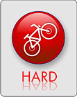 HARD - tak oznaczamy trasy trudne góskie z podjazdami