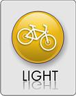LIGHT- to trasy typowo spacerowe bez większych podjazdów