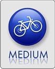 MEDIUM - tak oznaczamy trasy góskie z lżejszymi podjazdami